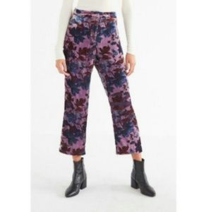 Urban Outfitters velvet high rise pants size 0